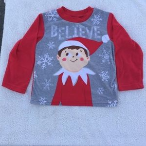 Elf on the Shelf Believe Sleep Top